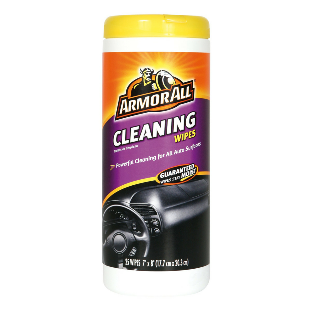 Armor All Cleaning Wipes 25 Ea