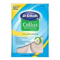 Dr. Scholl's Callus Removers Extra Thick Soft Cushions 4 Each [311017100448]