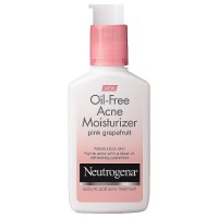 Neutrogena Oil-Free Acne Moisturizer, Pink Grapefruit 4 oz [070501062241]