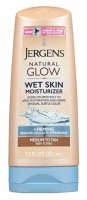 Jergens Natural Glow Wet Skin Moisturizer, Medium Skin Tan  7.5 oz [019100252653]