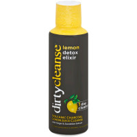 Dirty Cleanse Volcanic Charcoal Lemon Juice Cleanse 16 oz [035046097448]