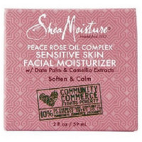Shea Moisture Peace Rose Oil Complex Sensitive Skin Facial Moisturizer 2 oz [764302216056]