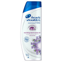 Head & Shoulders Nourishing Hair & Scalp Care 2 In1 Dandruff Shampoo + Conditioner 12.8 oz [037000733065]
