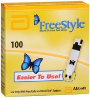 FreeStyle Blood Glucose Test Strips 100 Each [699073121011]