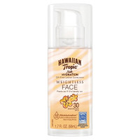 Hawaiian Tropic Silk Hydration Face Lotion Sunscreen SPF 30 1.7 oz [075486091132]