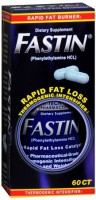 Hi-Tech Pharmaceuticals Fastin Dietary Supplement 60 Tablets [857084000743]