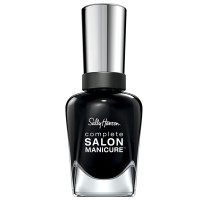 Sally Hansen Complete Salon Manicure Nail Color, Hooked on Onyx 0.5 oz [074170446531]