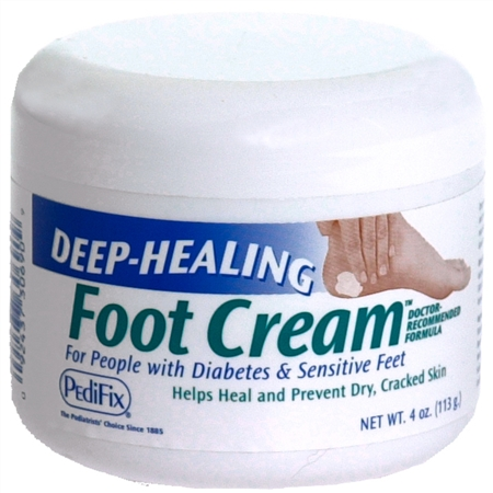 PediFix Deep-Healing Foot Cream 4 oz [092437306909]
