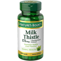 Nature's Bounty Milk Thistle 175 mg Capsules 100 ea [074312334917]