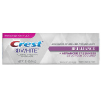 Crest 3D White Brilliance  Fluoride Anticavity Toothpaste 4.1 oz [037000943822]