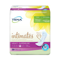 TENA Incontinence Pads for Women, Heavy, Long  39 ea [768702542951]