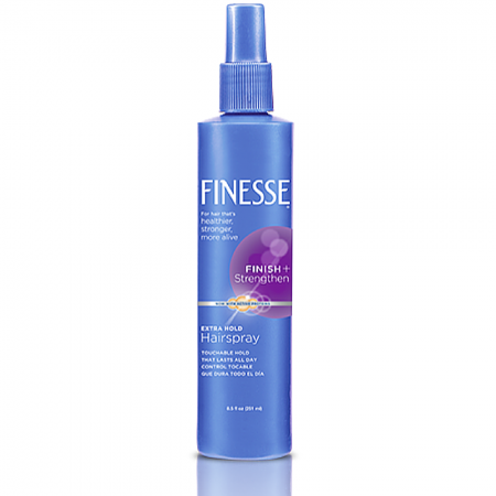 Finesse Finish + Strengthen, Extra Hold Hairspray 8.50 oz [067990500569]