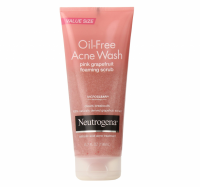 Neutrogena Oil-Free Acne Wash Pink Grapefruit Foaming Scrub 6.70 oz [070501053751]