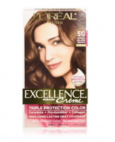 L'Oreal Paris Excellence Creme Haircolor, Medium Golden Brown [5G] 1 ea [071249210574]