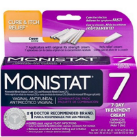 MONISTAT Vaginal Antifungal 7-Day Treatment Cream, Cure & Itch Relief [363736109042]