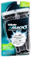 Gillette MACH3 Disposable Razors 6 Each [047400303744]
