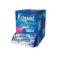 Equal 0 Calorie Sweetener Packets  500 ea [300258109402]