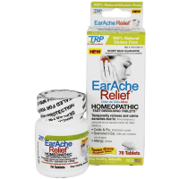 The Relief Products EarAche Relief Homeopathic Fast Dissolving Tablets 70 ea [858961001259]