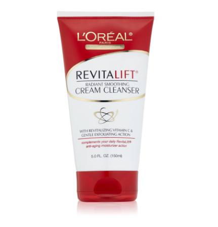 L'Oreal Dermo-Expertise RevitaLift Radiant Smoothing Cream Cleanser 5 oz [071249135655]