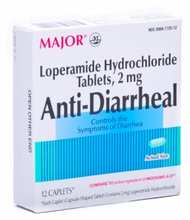 MAJOR Anti-Diarrheal Caplets 12 Caplets [309047725120]
