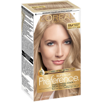 L'Oreal Paris Superior Preference Fade Defying Color + Shine System, Champagne Blonde (Cooler) [8.5A] 1 ea [071249253236]