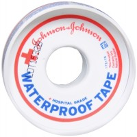 JOHNSON & JOHNSON Red Cross First Aid Waterproof Tape 1/2 Inch X 10 Yards 10 Yards [381370050506]