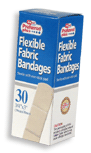 Bandages Flexible Fabric Adhesive  3/4 Inch X 3 Inches 30 ea [616784369297]