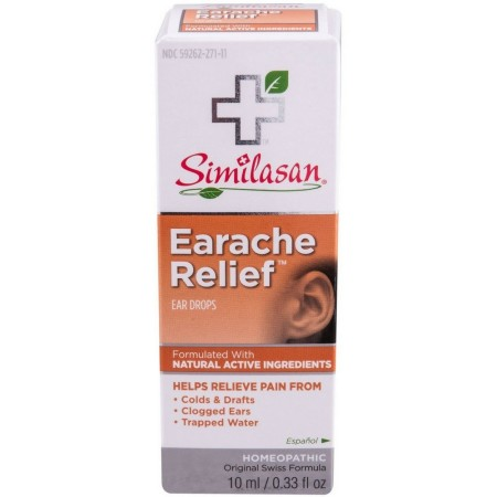 Similasan Earache Relief Ear Drops 10 mL [094841255149]