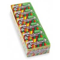 Fruit Stripe Chewing Gum 1 sided tray 12 pack (17ct per pack)  [041623015019]