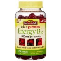 Nature Made Energy B12 Adult Gummies 150 ea [031604041748]