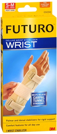 FUTURO Deluxe Wrist Stabilizer Right Hand Small-Medium 1 Each [072140909932]