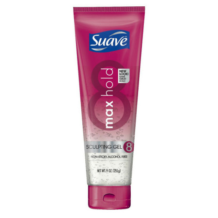 Suave Max Hold 8 Sculpting Gel 9 oz [079400181480]