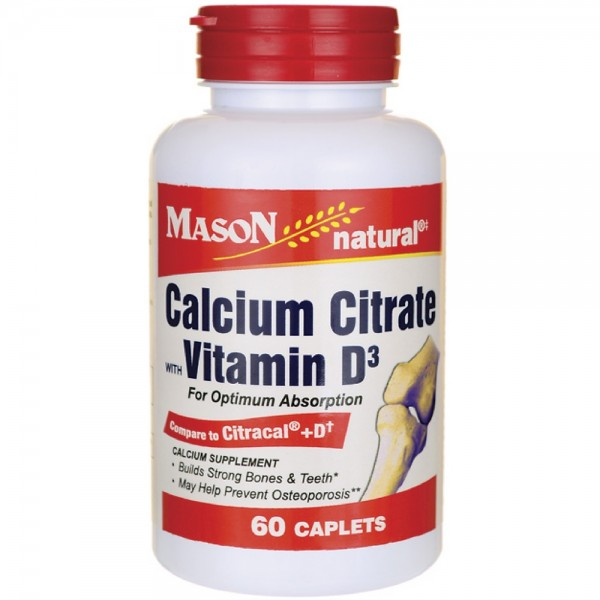 how to take calcium citrate with vitamin d
