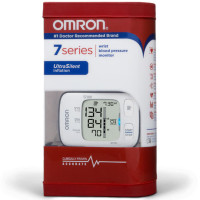Omron 7 Series Wrist Blood Pressure Monitor 1 ea [073796266523]