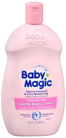 Baby Magic Gentle Baby Lotion Original Baby Scent 16.50 oz [075371050060]