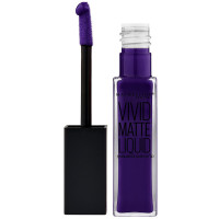 Maybelline Color Sensational Vivid Matte Liquid Lipstick, Wicked Berry 0.26 oz [041554493610]