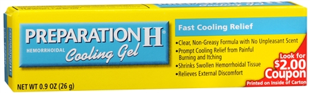 Preparation H Cooling Gel 0.90 oz [305732840109]