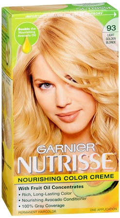 Nutrisse Haircolor - 93 Honey Butter (Light Golden Blonde) 1 Each [603084027378]