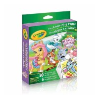 Crayola Mini Coloring Pages Disney Whisker Haven Tales 1 ea [071662028558]
