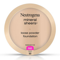 Neutrogena Mineral Sheers Loose Powder Foundation, Natural Beige [60], 2 pack [086800432838]