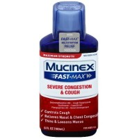 Mucinex Fast-Max Adult Severe Congestion and Cough Liquid, 6 Ounce [363824014654]