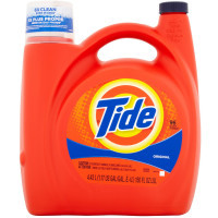 Tide Liquid Laundry Detergent, Original Scent 150 oz [037000230649]