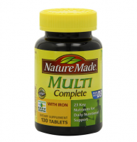 Nature Made Multi Complete Tablets 130 ea [031604025182]