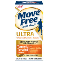 Move Free Ultra Whole Root Turmeric & Tamarind Bottle For Clinically Proven Joint Comfort 30 ea [020525912626]