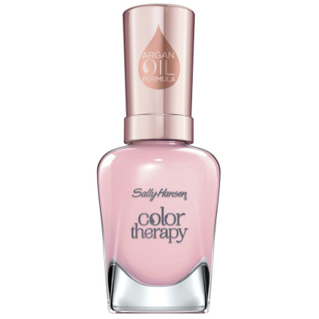 Sally Hansen Color Therapy Nail Polish, Rosy Quartz 0.5 oz [074170443615]