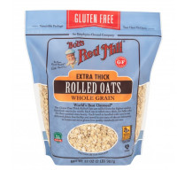 Bob's Red Mill Gluten Free Extra Thick Rolled Oats 32 oz  [039978023742]