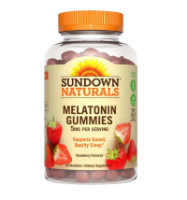 Sundown Naturals Naturals Melatonin 5 mg Gummies 60 ea [030768535032]