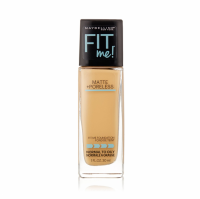 Maybelline New York Fit Me! Matte + Poreless Foundation, Natural Beige [220] 1 oz [041554433470]