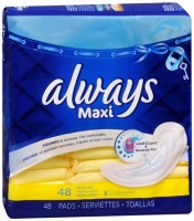 Always Maxi Pads Regular 48 Each [037000661030]