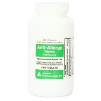 Preferred Plus Chlorpheniramine Maleate Anti-Allergy Advaced Pharmaceuticl Tablets 1000 ea [017714016104]
